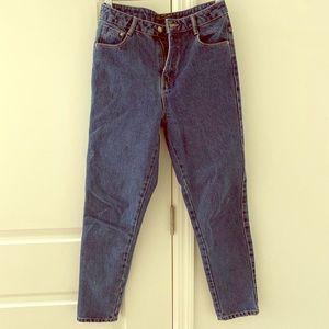 Zara Trafaluc denimwear mom jeans